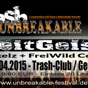 """""""Zeitgeist"""" – 18.04.2015 – live im Trash Gera/HBF"""