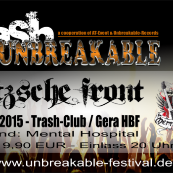 """""""Goitsche Front"""" – 13.06.15 – live im Trash Gera"""
