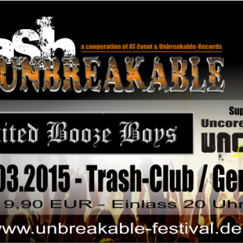 """Limited Booze Boys"" – 14.03.2015 – live im Trash"