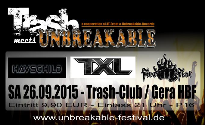 26.09. – 3 Bands – Trash Gera/HBF